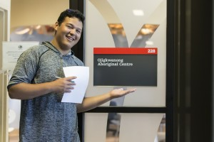 Michael visits Ojigkwanong, the Aboriginal Student Centre at Carleton University, to find out what resources are available to students.
